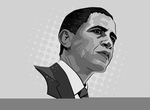 president barack obama clipart free images at clker com vector