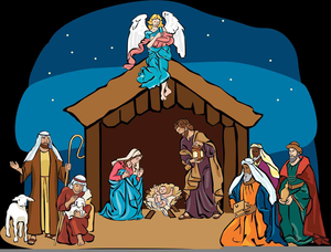 Free Clipart Nativity Scenes | Free