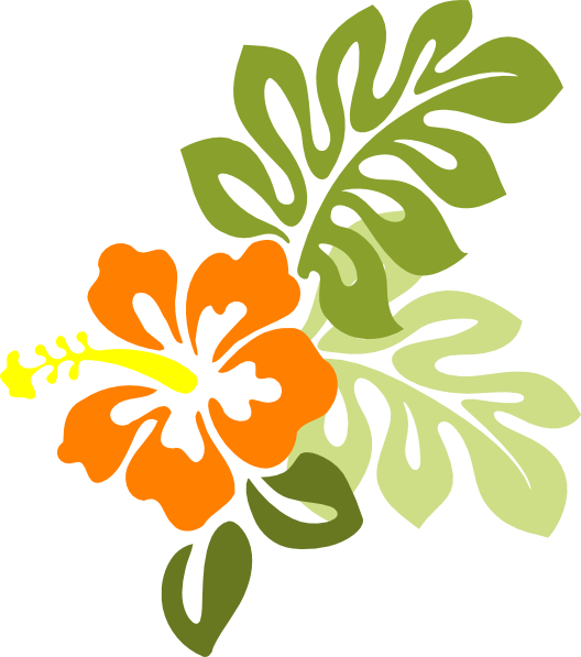 Hibiscus Clip Art at Clker.com - vector clip art online, royalty free ...
