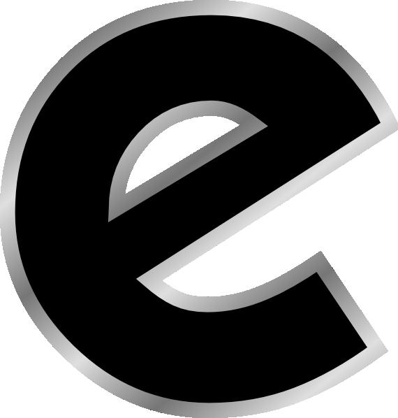 letter e design clip art at clker com vector clip art online