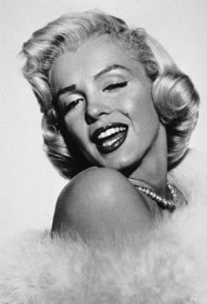 Marilyn Monroe | Free Images at Clker.com - vector clip art online ...