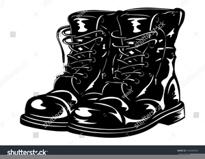 Free Clipart Combat Boots