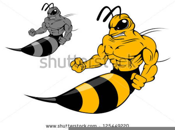yellow jacket mascot clipart free images at clker com vector rh clker com