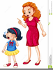 Angry Mom Clipart Image
