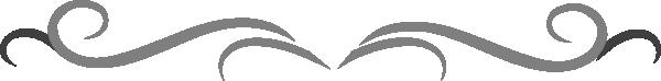 Grey Curly Line Design Clip Art at Clker.com - vector clip ...