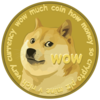 Dogecoin Text Image