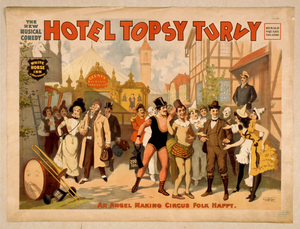 The New Musical Comedy, Hotel Topsy Turvy Image