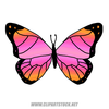 Cartoon Butterfly Clipart Free Image