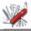 Free Clipart Of Swiss Army Knife Image