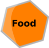 Hexagon Gris Food Clip Art