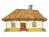 Animated House Clipart Image