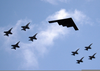 Stealth Bomber Clipart Image