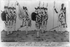 Count De Rochambeau - French General Of The Land Forces In America Reviewing The French Troops Image