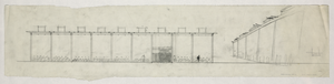 [riverview High School, Sarasota, Florida. Elevation And Perspective. Sketch] Image