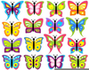 Hello Kitty Butterfly Clipart Image