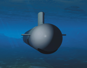 Conceptual Drawing Shows The New Virginia-class Attack Submarine Image