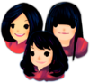 Three Girls Icon Image