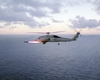 Sh-60b Helicopter Fires Agm-114 Image