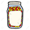 Lolly Jar Clipart Image