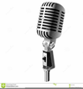 Free Clipart Radio Microphone Image