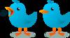 Twitter Bird Mascot Clip Art