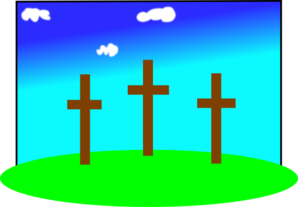 Easter Crosses Clip Art