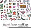 Beauty Fashion Clipart Image