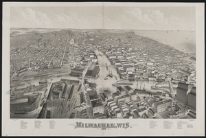 Milwaukee Wisconsin 1879 Image