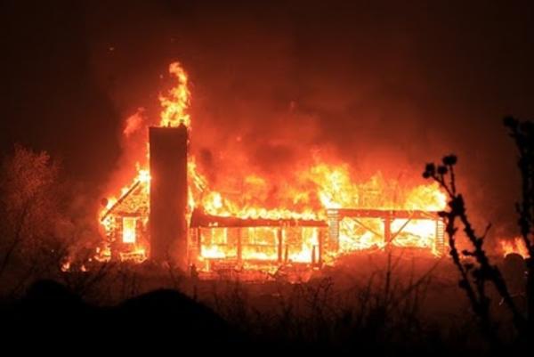 clipart burning house - photo #48