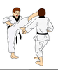 Clipart Kids Tae Kwon Do Image