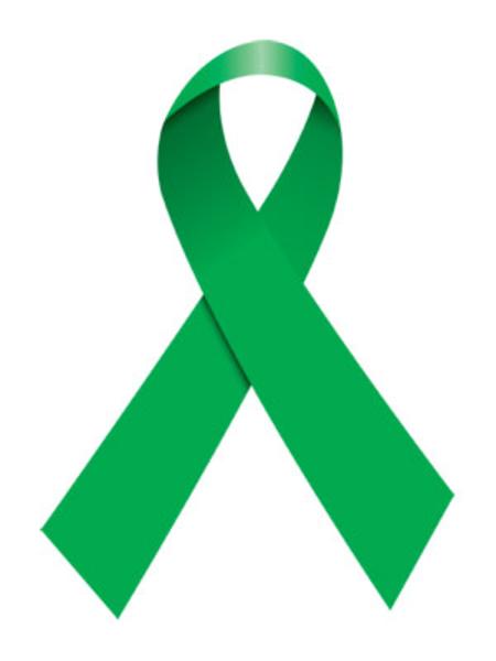 free clip art green ribbon - photo #14