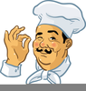 Chef Food Vector Image