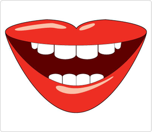 Lips animated. Talking mouth clipart free