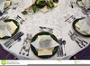 Clipart Dinner Place Setting Image