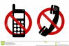 No Cell Phones Clipart Image