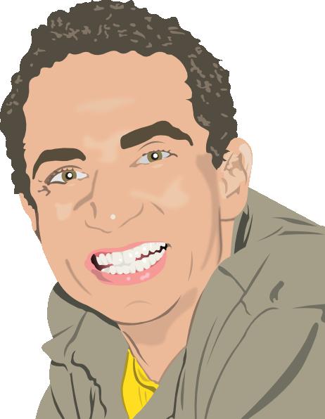 Man Smiling clip artSmiling Man Clipart