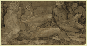 Three Male Figures Image
