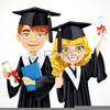 Cap And Gown Clipart Image