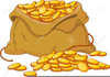 Free Clipart Of Money Bags Image