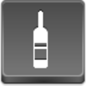 Free Grey Button Icons Wine Bottle Image