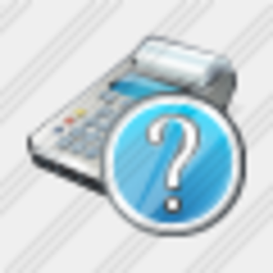 Icon Cash Register Question Image
