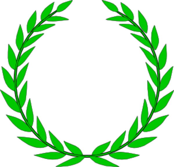 Education Symbol Olive Wreath Free Images At Clker Vector