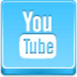 Free Blue Button Icons Youtube Image