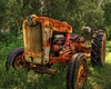 Tractor Antique Image