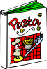 Italian Cooking Book Clip Art
