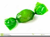 Wrapped Candy Clipart Image