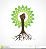 Go Green Tree Clipart Image