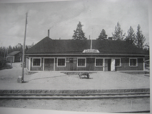 Lievestuore Train Station Image