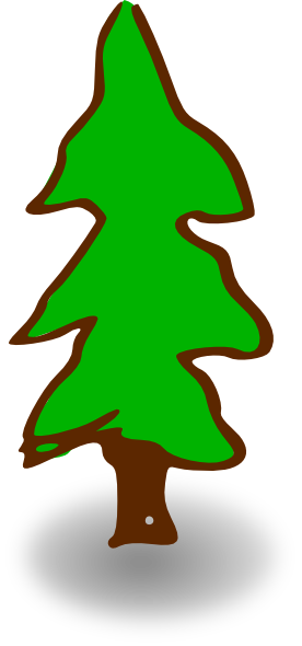 evergreen tree clip art at clker com vector clip art online rh clker com evergreen clipart black and white clip art evergreen tree silhouette