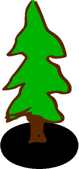 evergreen tree clip art at clker com vector clip art online rh clker com evergreen clip art free evergreen bough clipart